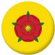 Lancashire County Flag 58mm Mirror Keyring
